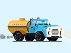 Soviet cars [[MORE]] (by Nikolay Ivanov and Nickola Nickolov) (adsbygoogle = window.adsbygoogle    []).push({});