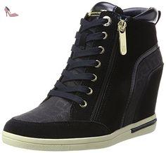 Tommy Hilfiger S1285ebille 3c2, Sneaker Col Roulé Femme, Bleu (Midnight), 40 EU - Chaussures tommy hilfiger (*Partner-Link)