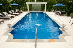 Outdoor pool designs that you would wish they were yours for Common pool design xword
