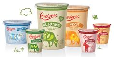 Brownes Natural Yoghurt — The Dieline - Branding