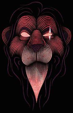 design-dautore: The work of Patrick Seymour Patrick Seymour, Disney Images, Disney Kunst, Disney Fan Art, Art Roi Lion, Lion King Art, Disney Lion King, Illusion Art, Art Graphique