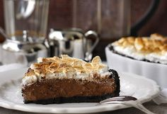 Oreos-csokoládés pite No Bake Treats, Tart, Food Porn, Baking, Oreos, Random, Pie, Bakken, Tarts