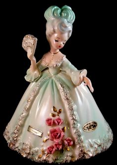 """Josef Originals figurine - """"Yvonne"""" - From the 'XVIII Century French' series. From my own private collection."""
