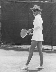 Great Tennis Style | Grace Kelly, 1969