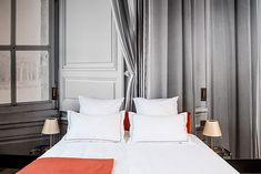 Relais de Chambord, deep in the French countryside, less than two hours from Paris, is an unforgettable experience. Luxury Hotel Design, Luxury Hotels, Hotel Lounge, Hotel Pool, Hotel Suites, Luxury Hotel Bathroom, Hotel Architecture, Modern Bedroom Design, Luxurious Bedrooms