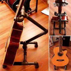 Klasik gitarlar için tekli gitar standı. Ayrıntılar web sitemizde…