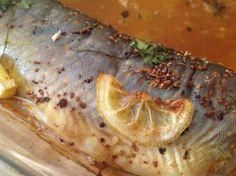 upieczona ryba