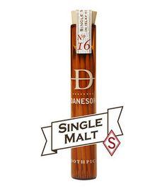Single malt Scotch soaked tooth picks.