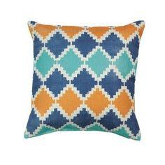 Southwestern Diamond Throw Pillow