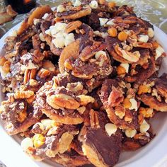 Ritz Cracker Candy… try to eat just one!