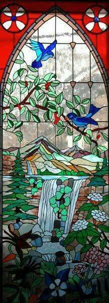 merveilleux vitreil......#stained #glass #art