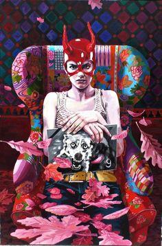 Rotkäpchen - Sonja Tines Art