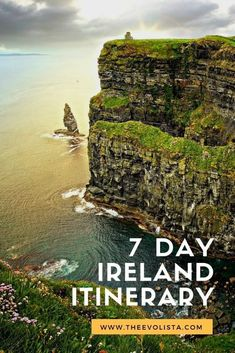 7 Days In Ireland Itinerary Including Northern Ireland 7 Days In Ireland Itinerary - THE EVOLISTA Ireland travel best spots, must see places and travel tips in a 7 day Ireland itinerary. See Dublin, Galway, Cliffs of Moher, Northern Ireland and more. Europe Travel Tips, New Travel, Travel Goals, Summer Travel, European Travel, Travel Guides, Travel Destinations, Paris Travel, Travel Abroad