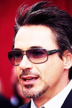 """Robert Downey Jr. """"A billionaire, a playboy, a philanthropist, OH and Iron Man."""""""
