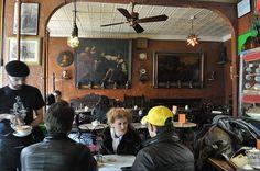Cafe Reggio. 119 MacDougal Street, New York City. Established 1927.