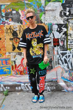 Kyle Anderson, New York_street style by stela
