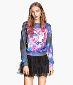 Anime Patterned Sweatshirt | H&M US $24.95