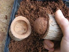 Making Clay Shot for your slingshot. My son will think this is the coolest idea…                                                                                                                                                                                 More