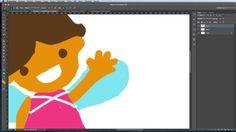 Video Dibujando a Clementina #videotutorial #dibujo #photoshop