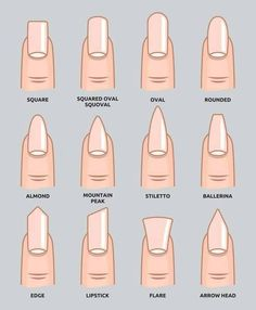 nails shape Check 12 different nail shapes names in 2020 and wear our top 5 acrylic nail shapes now! Perfect for all short, long, almond, coffin, & fake nail shapes! Acrylic Nail Shapes, Best Acrylic Nails, Acrylic Nail Designs, Types Of Nails Shapes, Different Nail Shapes, Perfect Nails, Gorgeous Nails, Amazing Nails, Fabulous Nails