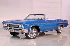 1966 Chevrolet Impala SS Convertible.