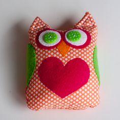 Owl Bean Bag                                 #lauri-nananews.blogspot.com