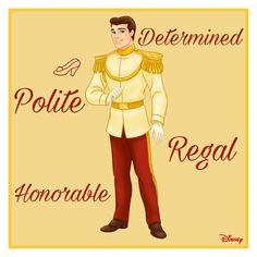 Disney Pics, Disney Pictures, Disney Dream, Disney Princesses, Prince Charming, Cinderella, Personality, Awesome, Men