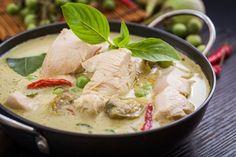 Thajské kari s kuřecím masem