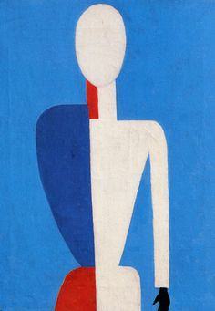 Post Supremist Painting: 1928-1932: Huile sur toile -  Kazimir #Malevich