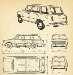 old car blue print three. blueprint auto antiguo tres