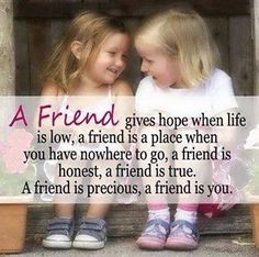 I wish I had a true friend! someone I didn't have 2 wonder wether they really care about me or just put up with me!