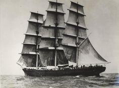 Cutty Sark under sail, 1880s