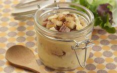 Parmentier à l'andouille de Guéméné, camembert et pommes   Paysan Breton