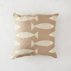 Minnow Patio Pillow in Outdoor Living Pillows + Cushions at Terrain
