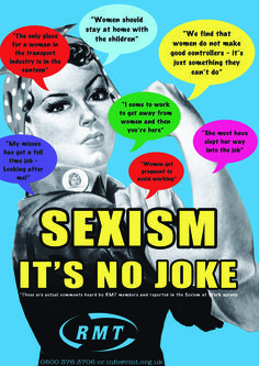 Images and Quotes About Sexism in the Workplace   sexist-quotes-national-poster.jpg?w=848
