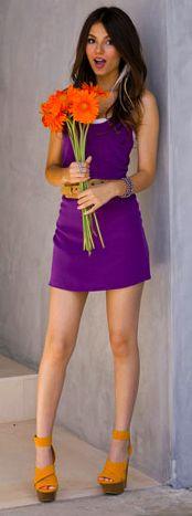 Victoria Justice, Pretty in Purple
