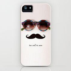 je men fous iPhone Case by Basilique - $35.00