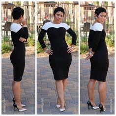Mimi g style black dress youth