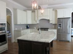 L and L of Raleigh built this custom kitchen at The Reserve @ Grayson