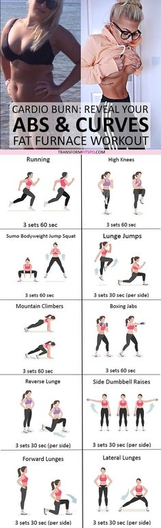 Lose Fat Belly Fast - #womensworkout #workout #femalefitness Repin and share if this workout melted your stubborn fat! Click the pin for the full workout. Do This One Unusual 10-Minute Trick Before Work To Melt Away 15+ Pounds of Belly Fat
