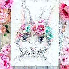 Stacey Young is the queen of creating watercolor projects, then adding Finnabair's gels, pastes, and art stones for lots of texture, finishing off with gorgeous Prima flowers!