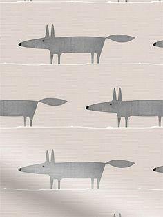 Mr Fox Mini Neutral Roller Blind from Blinds 2go