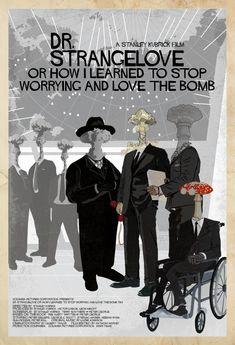 Dr. Strangelove or How I Stopped Worriyng and Love the Bomb - movie poster - Edgar Ascensão