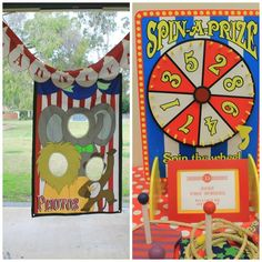 CARNIVAL THEMED BIRTHDAY PARTY/carnival-circus-theme-first-birthday-party-dessert-table-cake