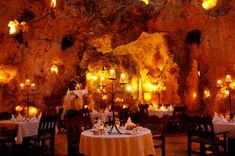Ali Barbour's Cave Restaurant, Mombassa, Kenya