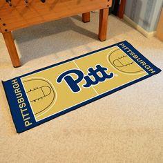 University of Pittsburgh Basketball Court Runner