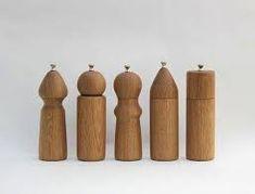 Check out the White Oak Salt and Pepper Grinders in Kitchenware, Salt & Pepper Mills from Nickey Kehoe for Salt And Pepper Grinders, Salt Pepper Shakers, Cooking Gadgets, Kitchen Gadgets, White Oak, Wood Turning, Kitchenware, Tableware, Kitchen Dining