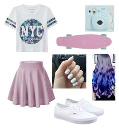 """""""Untitled #93"""" by queenofrose ❤ liked on Polyvore featuring Aéropostale, Vans, women's clothing, women's fashion, women, female, woman, misses and juniors"""
