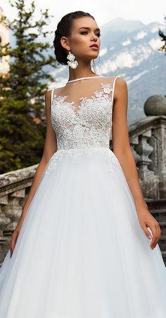 Milla Nova Bridal 2017 Wedding Dresses jasmin2 / http://www.deerpearlflowers.com/milla-nova-2017-wedding-dresses/14/