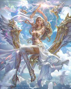 Aphrodite Goddess Another white goddess illustration for Mobius Final Fantasy. =D jeremy chong Foto Fantasy, Fantasy Magic, Chica Fantasy, Fantasy Kunst, Fantasy Art Women, Beautiful Fantasy Art, Dark Fantasy Art, Fantasy Girl, Fantasy Artwork